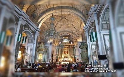 San Agustin church locked down after priest dies of Covid-19