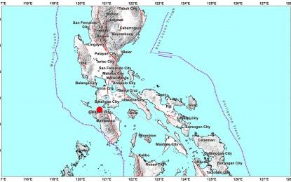 Magnitude 5.8 quake jolts Occidental Mindoro
