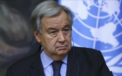 UN chief calls for immediate halt to hostilities in Israel, Gaza