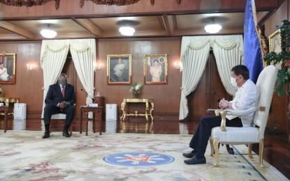 Duterte, Austin renew PH-US alliance