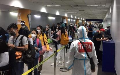 9 'bayanihan' flights bring home over 3.5K distressed Filipinos